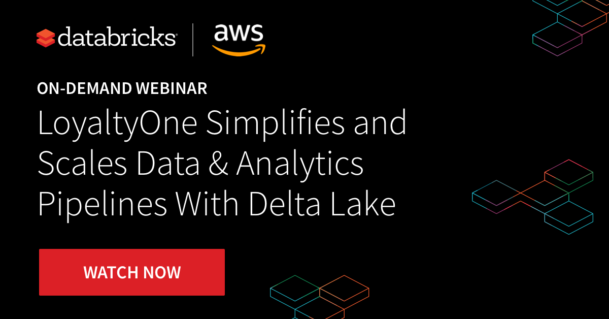 Thumbnail for LoyaltyOne Simplified and Scales Data & Analytics Pipelines With Delta Lake
