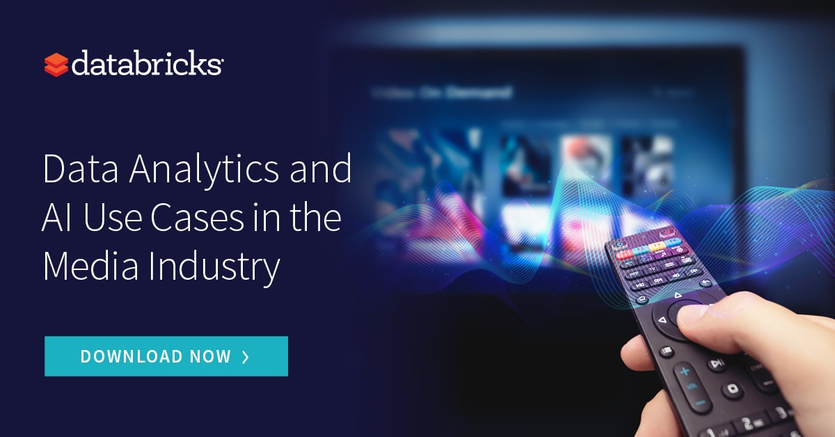 Thumbnail for Data Analytics and AI Use Cases in the Media & Entertainment Industry