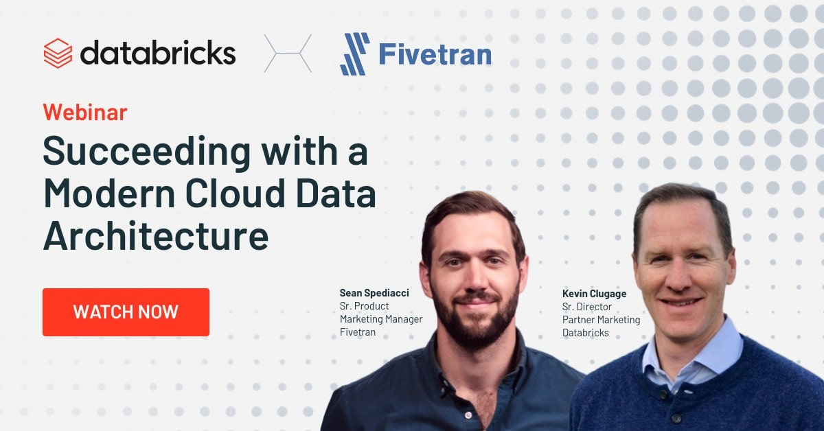 Thumbnail for Succeeding with a Modern Cloud Data Architecture