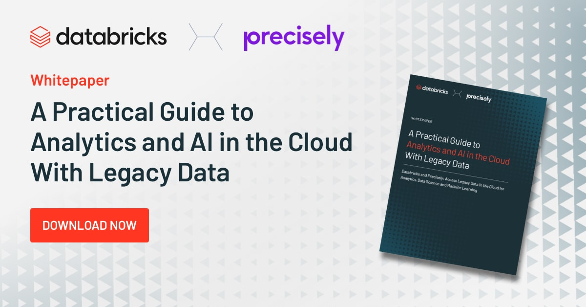 Thumbnail for A Practical Guide to Analytics and AI in the Cloud with Legacy Data