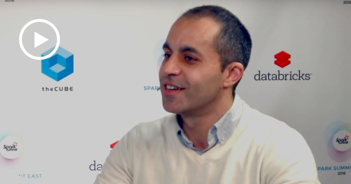 Thumbnail for Ali Ghodsi Interview at Spark Summit East 2016