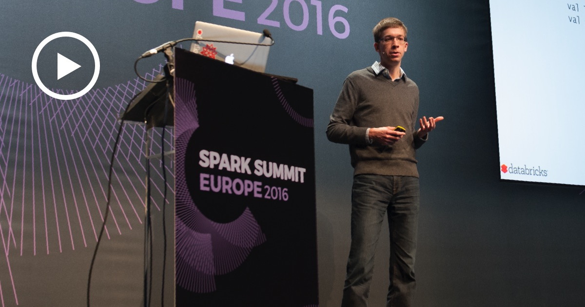 Thumbnail for Continuous Applications at Spark Summit Europe 2016