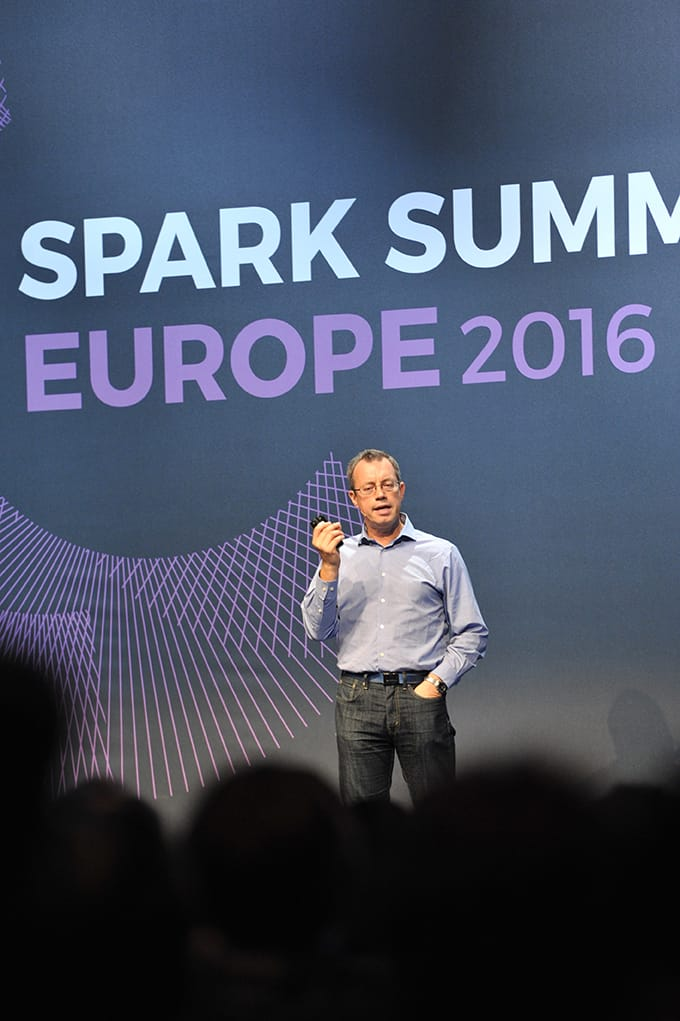 Ion Stocia's keynote at Spark Summit Europe 2016