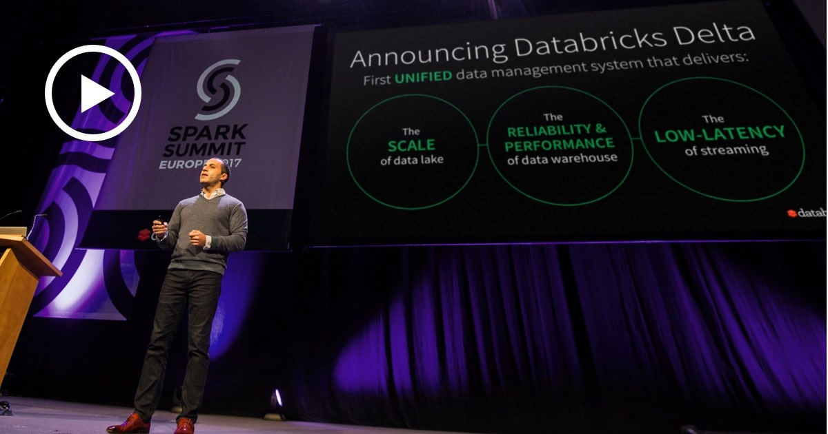 Thumbnail for Spark Summit Europe 2017 Keynote: Databricks Delta & Demo