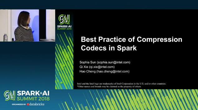 Best Practice of Compression/Decompression Codes in Apache Spark