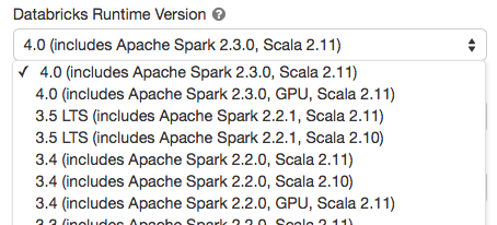 Introducing Apache Spark 2 3 - The Databricks Blog