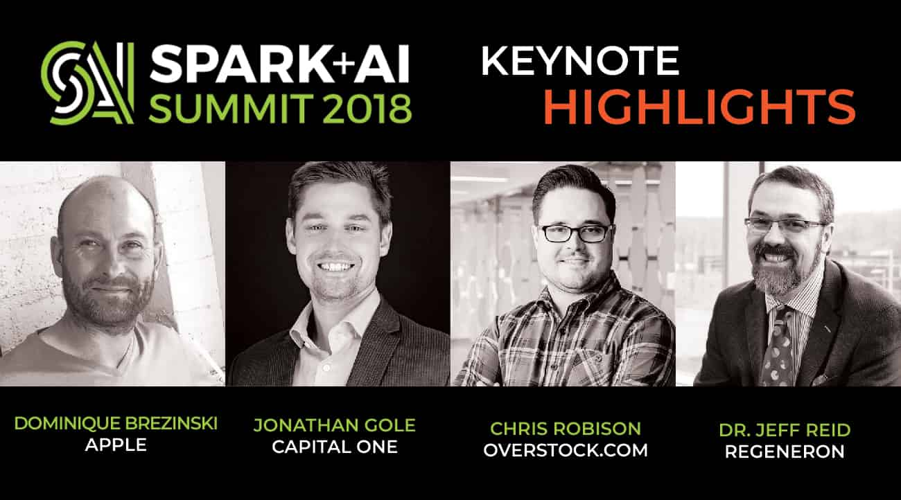 Thumbnail for 2018 May: Spark + AI Summit New Keynote Highlights!