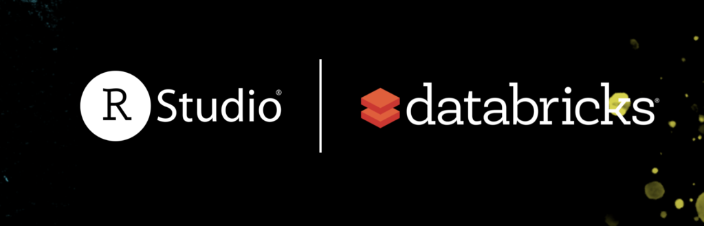 RStudio and Databricks Logos