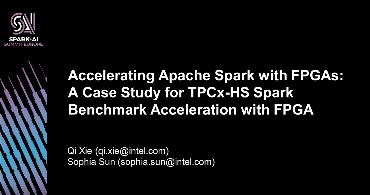 Accelerating Apache Spark with FPGAs: A Case Study for 10TB TPCx-HS