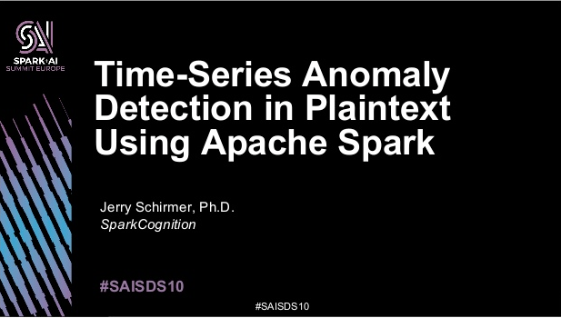 Time-Series Anomaly Detection in Plaintext Using Apache Spark