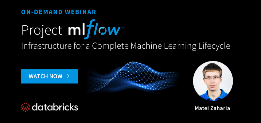MLflow: Infrastructure for a Complete Machine Learning Lifecycle
