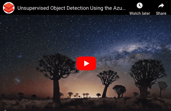 Unsupervised Object Detection Using the Azure Cognitive Services on Spark