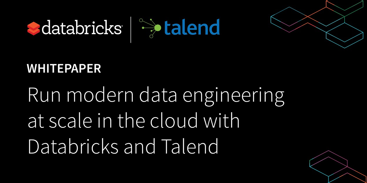 Thumbnail for Run modern data engineering at scale in the cloud with Databricks and Talend