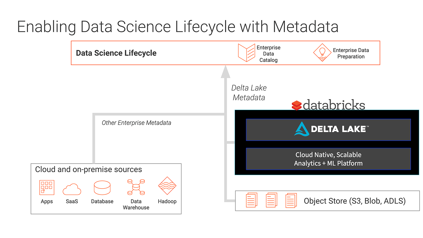 Enabling Data Science Lifecycle with Metadata