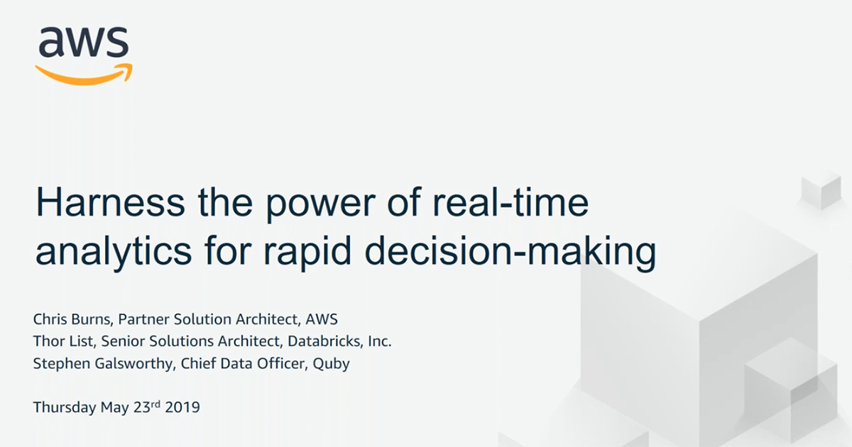 Harness the Power of Real-Time Analytics for Rapid Decision-Making