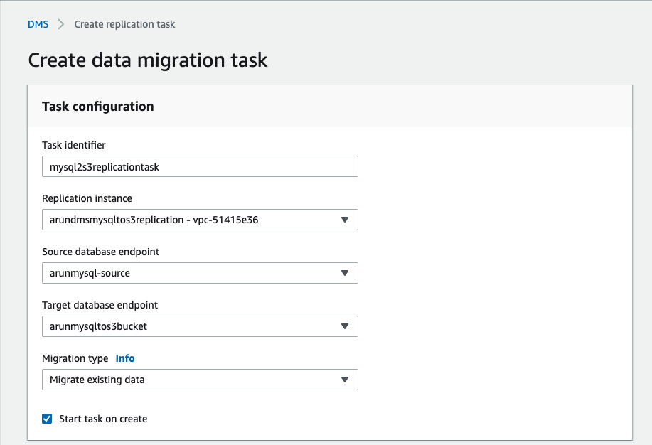 Migrating Transactional Data to a Delta Lake using AWS DMS - The