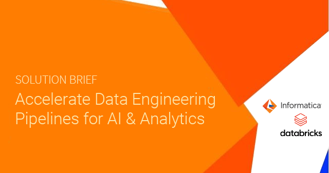 Accelerate Data Engineering Pipelines for AI and Analytics