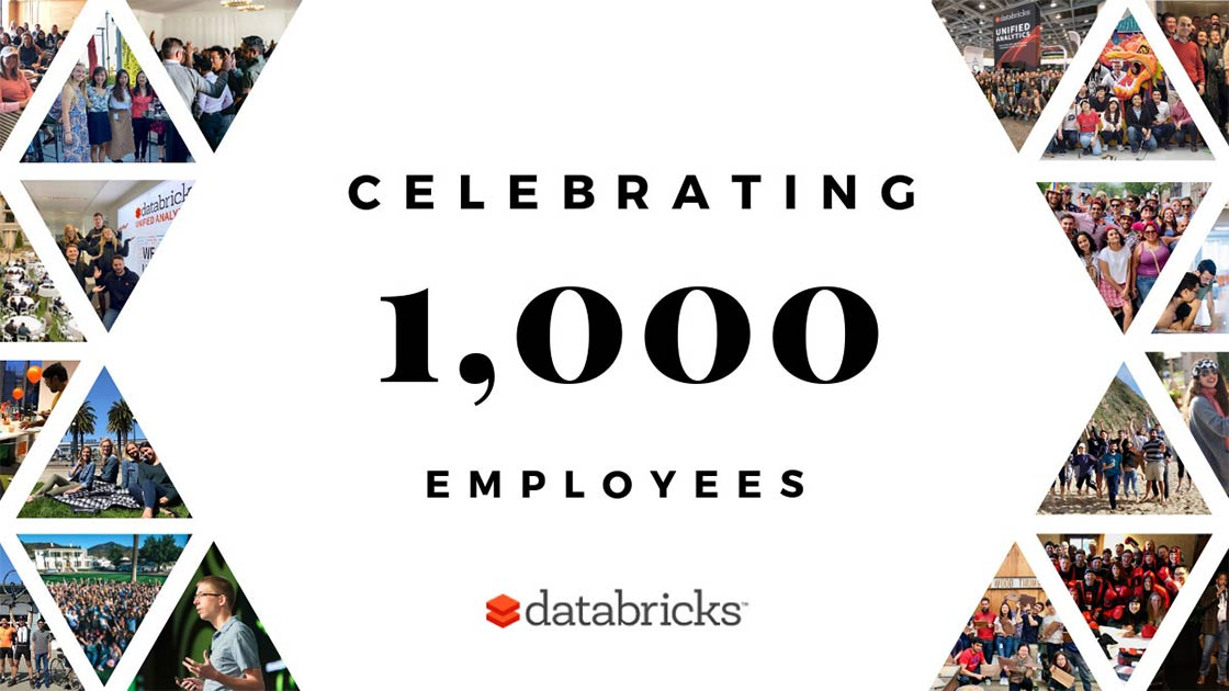 Databricks celebrates its 2019 growth and reaching the 1,000 employee milestone