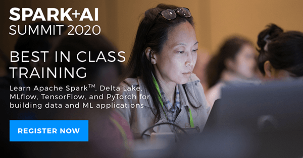 Spark + AI 2020 Best in Class training