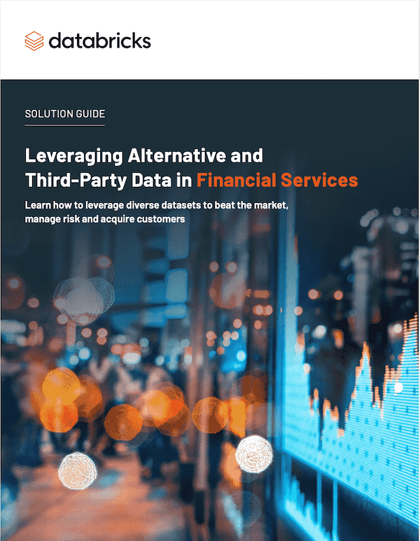 ebook: Leveraging Alternative and Third-Party Data in Financial Services