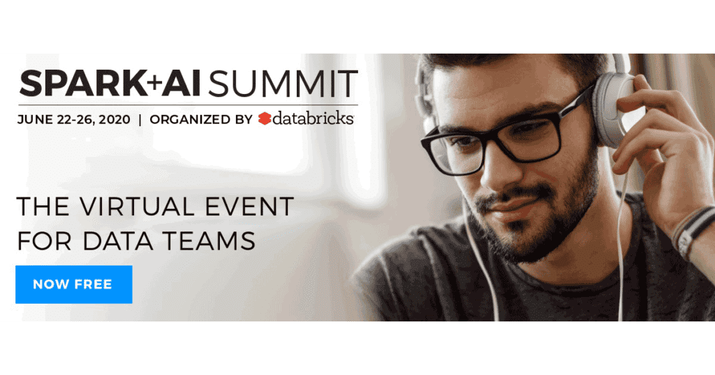 The Spark + AI Summit 2020 features an expansive virtual agenda covering a range of big data and AI subjects for data engineers, data scientists, and data analysts