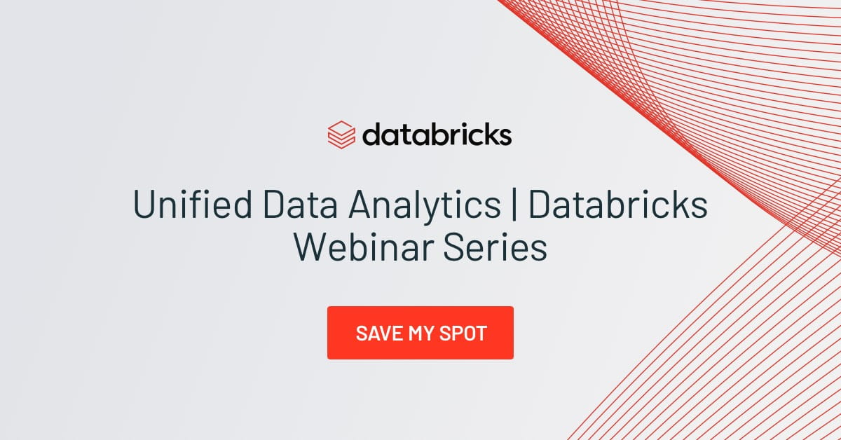 Thumbnail for Unified Data Analytics Webinar – Simplifying Streaming Analytics with Delta Lake and Spark