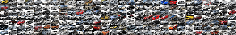 Stanford Cars Dataset used in CNN image classification demonstration.