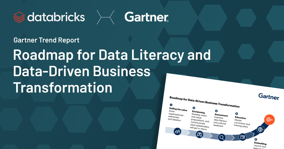 Thumbnail for Gartner Trend Report: Roadmap for Data Literacy and Data-Driven Business Transformation