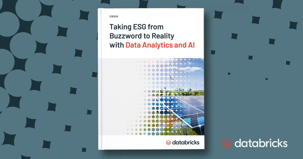 Thumbnail for Taking ESG from Buzzword to Reality with Data Analytics and AI