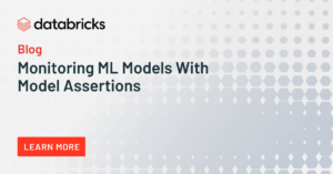 Monitoring ML Models With Model Assertions