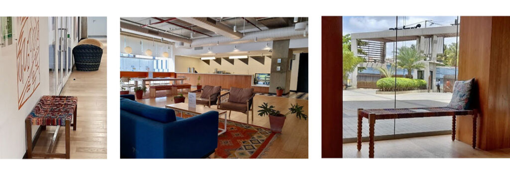 Different areas of the Databricks Bangalore Center