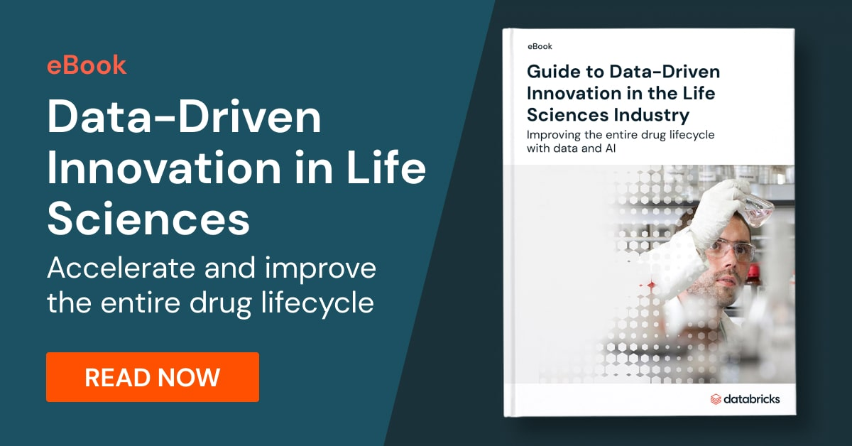 Data-Driven Innovation in Life Sciences