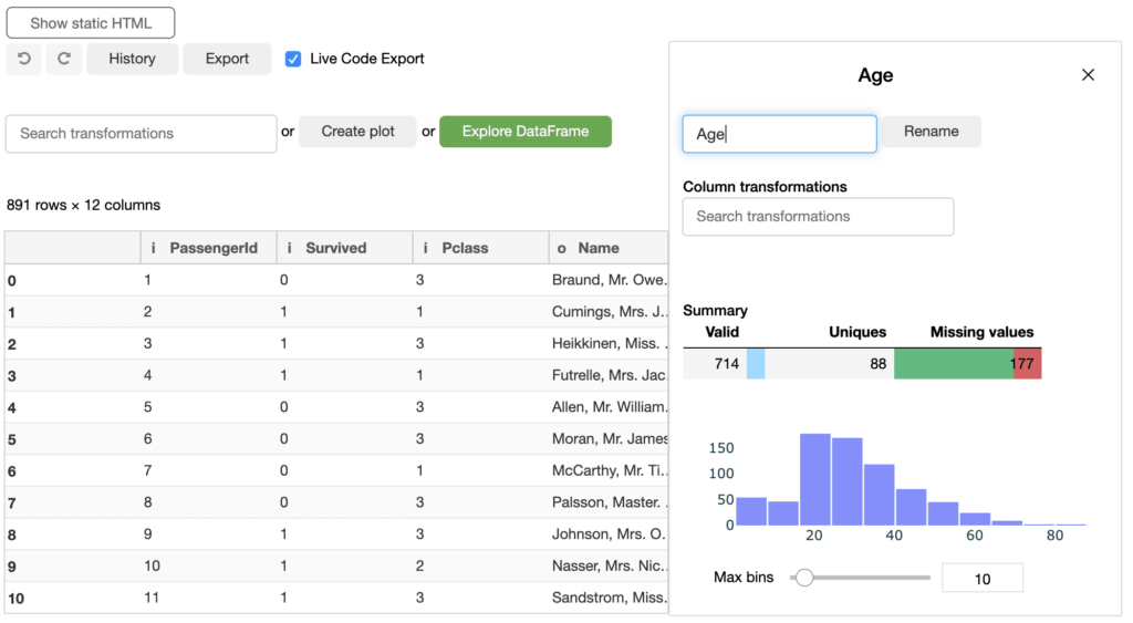 Data Preparation In just a few clicks, clean and organize raw data to make it useable for any downstream use case.